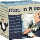 Blog in a Box-Instant blog creator-Learn how to blog and ping to increase traffic