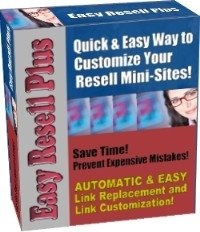 Easy Resell Plus-Updates Ebook mini sites, plus more-A must have for Ebook Business