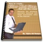 Create Killer Mini Ebook Sites that will Sell For You Like Crazy