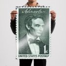 Young Abe Chapter 3 A Lincoln Stamp Istock Rare 36x24 inch print Poster