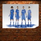 Chelsea Football Players Poster 36x24 inch