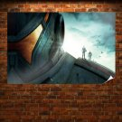 Pacific Rim Film Poster Poster 36x24 inch