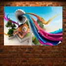 The Fantasy Gramophone Poster 36x24 inch