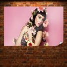 Katy Perry Flower Girl Poster 36x24 inch