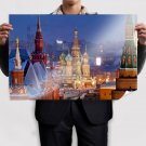 Moscow Cathedral View Poster 36x24 inch