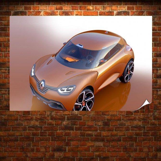 Cool Renault Captur Poster 36x24 inch