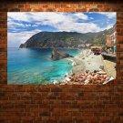Monterosso Al Mare Cinque Terre Poster 36x24 inch