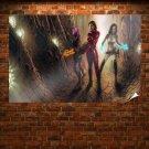 Woman Shepard Mass Effect Poster 36x24 inch