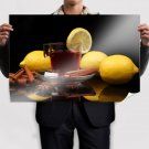 Cinnamon And Lemon Tea Poster 36x24 inch