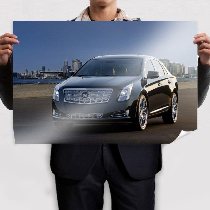 Cadillac Xts 2013 Edition Poster 36x24 inch