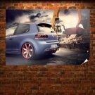 Bbm Vw Golf 6 Rear Poster 36x24 inch