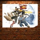 The Legend Of Korra Animated Poster 36x24 inch