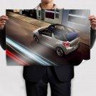 Cute Citroen Ds3 Cabrio Speed Poster 36x24 inch