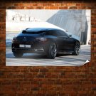 Citroen Concept 9 Rear Poster 36x24 inch