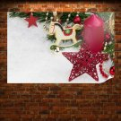 2014 Small Christmas Ornaments Poster 36x24 inch