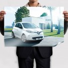 2013 Renault Zoe Poster 36x24 inch