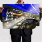 Open Bar Space Poster 36x24 inch