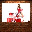 Lovely Santa Babe Poster 36x24 inch