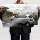 2012 Peugeot 208 Poster 36x24 inch