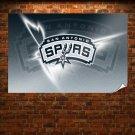 San Antonio Spurs Logo  Poster 36x24 inch
