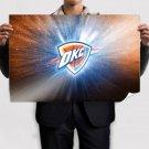 Oklahoma City Thunde  Poster 36x24 inch