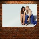 Mila Kunis And Kristen Bell  Poster 36x24 inch