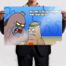 Welcome To The Salty Spitoon How Tough Are Ya  Poster 36x24 inch