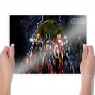The Avengers  Poster 24x18 inch