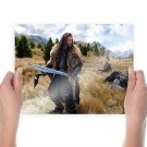 One Ring Inscription Poster 24x18 inch