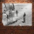 Gunsmoke Set Cowboy Retro Vintege Poster 32x24 inch