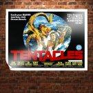 Tentacles Movie Poster Retro Vintege Poster 32x24 inch