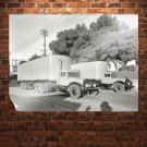 Truck Retro Vintege Poster 32x24 inch