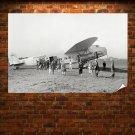 Fokker F 32 Airplane Plane Retro Vintege Poster 36x24 inch