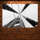 Bridge Cables  Poster 36x24 inch