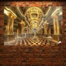 Venetian Hotel Hdr  Poster 36x24 inch