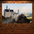 Castle Neuschwanstein Castle Bavaria Germany  Poster 36x24 inch