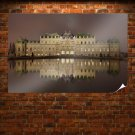 Mansion Palace Reflection  Poster 36x24 inch