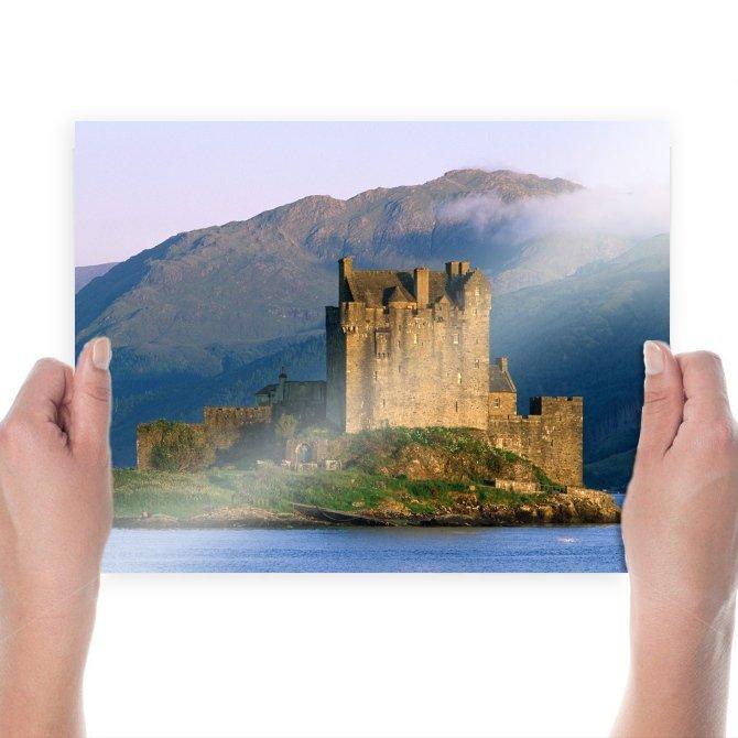Eilean Donan Castle Castle  Poster 24x18 inch