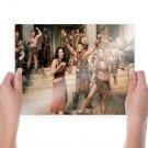 Spartacus Liam Mcintyre Cast Set Tv Movie Poster 24x18 inch
