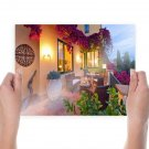House Patio  Poster 24x18 inch