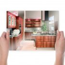 Kitchen House Room  Poster 24x18 inch