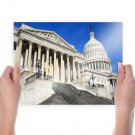 Capital Building Building United States Capitol Washington Dc  Poster 24x18 inch