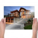House Mansion  Poster 24x18 inch