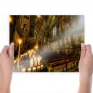 Hdr Church Religion  Poster 24x18 inch
