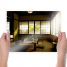 Room Sunlight Table  Poster 24x18 inch