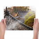 Asian Buildings  Poster 24x18 inch