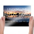 Reflections  Poster 24x18 inch