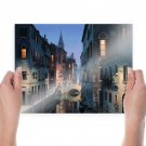 Venice Buildings Reflection Tv Movie Art Poster 24x18 inch