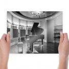 Piano Room Tv Movie Art Poster 24x18 inch