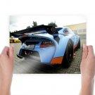 Porsche 9ff Gt9 Tv Movie Art Poster 24x18 inch